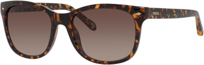 FOSSIL FOS 3006/S style-color Dark Havana 0V08/B1 / Warm Brown Gradient Lens
