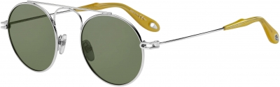 GIVENCHY GV 7054/S style-color Palladium 0010 / green lens
