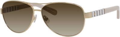 KATE SPADE DALIA/S US style-color Gold 0W89/Y6 / Brown Gradient Lens