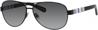 KATE SPADE DALIA/S US style-color Shiny Black 0W92/Y7 / Gray Gradient Lens