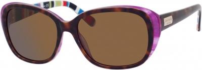 KATE SPADE HILDE/P/S US style-color Tortoise Purple Striped X72P/VW