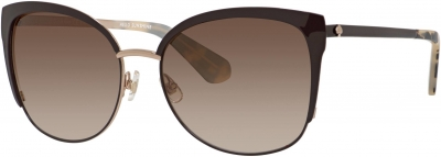 KATE SPADE GENICE/S style-color Brown Gold 0GSA/B1 / Warm Brown Gradient Lens