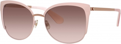 KATE SPADE GENICE/S style-color Pink Gold 0RRD/WI / Brown Pink Gradient Lens
