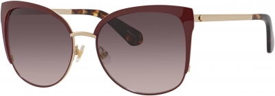 KATE SPADE GENICE/S style-color Opal Burgundy 0LHF / brown gradient lens
