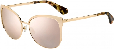 KATE SPADE GENICE/S style-color Rose Gold 0000 / gray rose gold lens