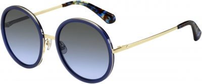 KATE SPADE LAMONICA/S style-color Blue Gold 0KY2 / gray azure lens