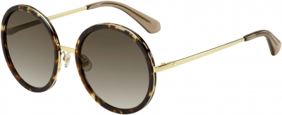 KATE SPADE LAMONICA/S style-color Havana Gold 02IK / brown gradient lens