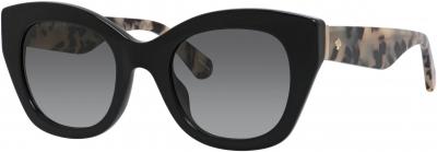 KATE SPADE JALENA/S style-color Black Havana 0WR7 / Dark Gray Gradient 9O Lens