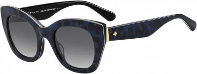 KATE SPADE JALENA/S style-color Blush Pattern Black 023X / Dark Gray Gradient 9O Lens