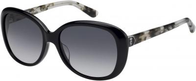 JUICY COUTURE JU 598/S style-color Black Havana 0WR7 / dark gray gradient lens