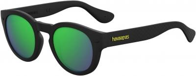 HAVAIANAS TRANCOSO/M style-color Black 0O9N / green multi