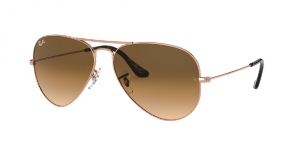 RAY-BAN RB3025 AVIATOR LARGE METAL style-color 903551 Copper