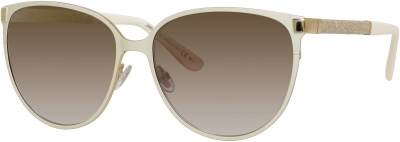 JIMMY CHOO POSIE/S style-color Ivory 0F8I/QH