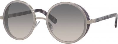 JIMMY CHOO ANDIE/S style-color Palladium 0J7L/IC / Gray Mirror Shaded Silver Lens