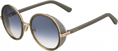 JIMMY CHOO ANDIE/S style-color Gold Copper 0S9R / gray gradient lens