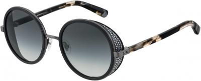 JIMMY CHOO ANDIE/N/S style-color Black 0807 / Dark Gray Gradient Lens
