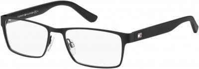 TOMMY HILFIGER TH 1420 style-color Matte Black Shiny Black 0MPZ