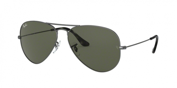 RAY-BAN RB3025 AVIATOR LARGE METAL style-color 919031 Sand Trasparent Grey