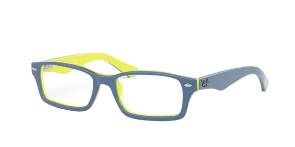 RAY-BAN RY1530 style-color 3819 Top Blue ON Yellow / Black