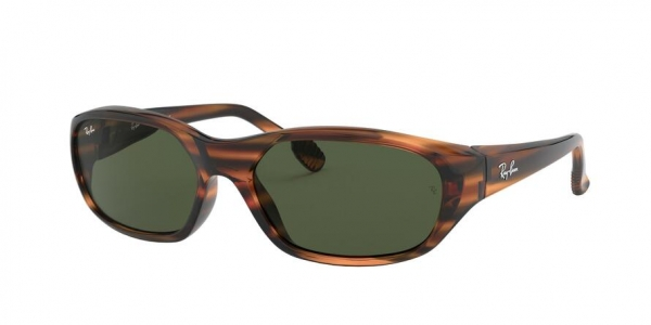 RAY-BAN RB2016 DADDY-O style-color 820/31 Stripped Red Havana