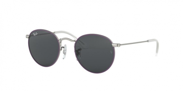 RAY-BAN RJ9547S style-color 279/87 Top Rubber Violet ON Silver