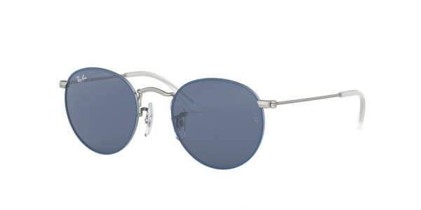 RAY-BAN RJ9547S style-color 280/80 Top Rubber Blue ON Silver