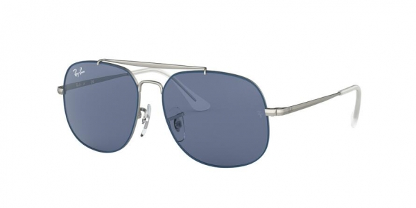 RAY-BAN RJ9561S style-color 280/80 Top Rubber Blue ON Silver