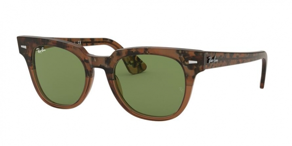 RAY-BAN RB2168 METEOR style-color 128714 Gradient Havana Brown