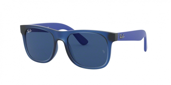 RAY-BAN RJ9069S style-color 706080 Rubber Trasp Blue