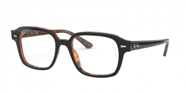 RAY-BAN RX5382 style-color 5909 Top Grey ON Havana