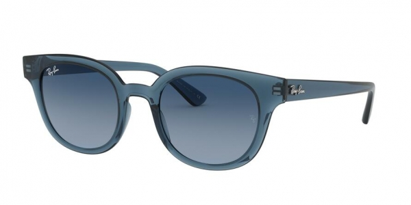 RAY-BAN RB4324 style-color 6448Q8 Trasparent Dark Blue