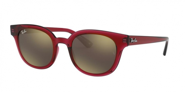 RAY-BAN RB4324 style-color 645193 Trasparent Red