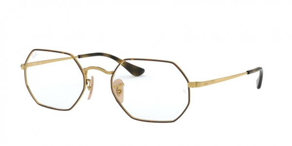 RAY-BAN RX6456 style-color 2945 Top Havana ON Gold