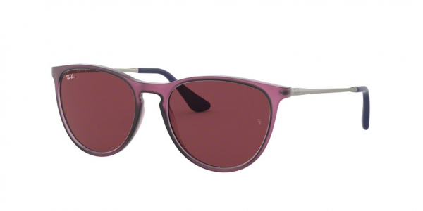 RAY-BAN RJ9060S style-color 705675 Rubber Trasparent Fuxia