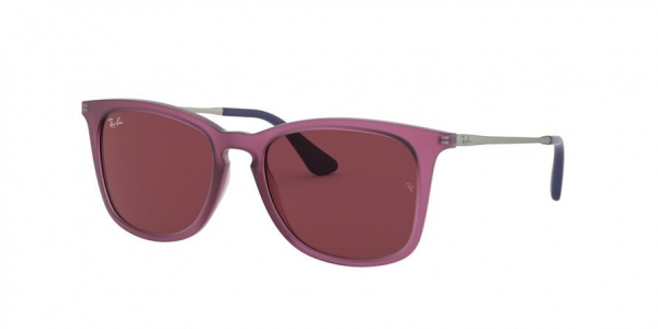 RAY-BAN RJ9063S style-color 705675 Rubber Trasparent Fuxia