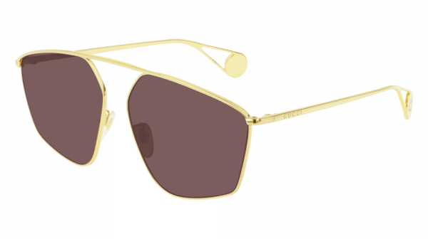 GUCCI GG0437SA ASIAN FIT style-color Gold 001