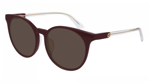 GUCCI GG0488SA ASIAN FIT style-color Burgundy 003