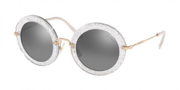 MIU MIU MU 13NS style-color 1481B0 Glitter Silver