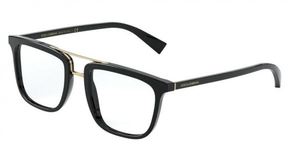DOLCE & GABBANA DG3323F ASIAN FIT style-color 501 Black