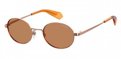 POLAROID CORE PLD 6066/S style-color Gold Orange 0OFY