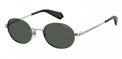 POLAROID CORE PLD 6066/S style-color Silver Black 079D