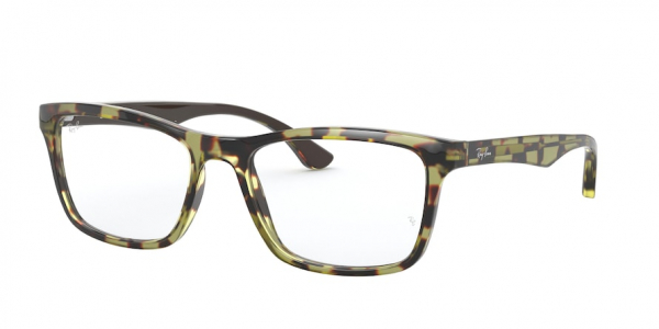 RAY-BAN RX5279 style-color 5975 Top Yellow ON Havana Opal Beig