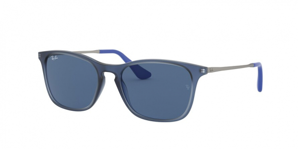 RAY-BAN RJ9061SF ASIAN FIT style-color 706080 Rubber Trasp Blue
