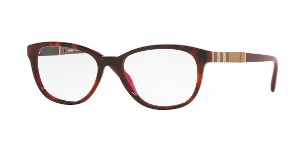 BURBERRY BE2172 style-color 3657 Top Havana ON Bordeaux