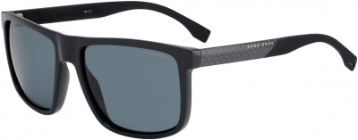 BOSS (HUB) BOSS 0879/S style-color Shiny Black 00J7 / Gray Polarized RA Lens