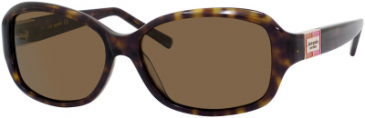 KATE SPADE ANNIKA/S style-color Tortoise 086P / Brown Polarized VW Lens