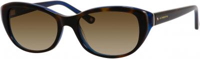 LIZ CLAIBORNE L 561S style-color Havana Blue 0DW2 / Brown Gradient CC Lens