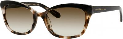 KATE SPADE AMARA/S style-color Black Blush Tortoise 0JAZ / Brown Gradient Y6 Lens
