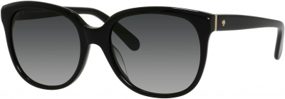 KATE SPADE BAYLEIGH/S style-color Black 0807 / Gray Gradient Y7 Lens