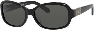 KATE SPADE CHEYENNE/P/S style-color Black 807P / Gray Polarized RA Lens